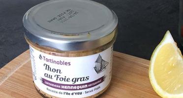 Ô'Poisson - Tartinables Thon Au Foie Fras