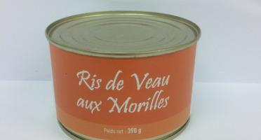 A la Truffe du Périgord - Ris De Veau Aux Morilles
