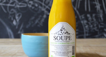 La Ferme du Polder Saint-Michel - Soupe Carotte - Courgette - Cumin - 50cl