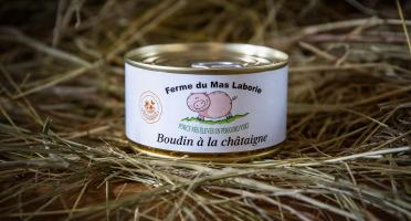 La Ferme du Mas Laborie - Boudin aux châtaignes du limousin - 180 g