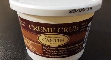La Fromagerie Marie-Anne Cantin - Crème Fraîche Crue 44% 25 Cl