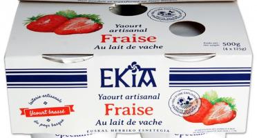 BASTIDARRA - Yaourts Brassés Fraise - 4 Pots
