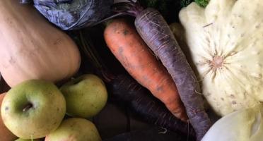 Ferme du Mont de Cuy - Panier De Légumes De Saison - 8kg