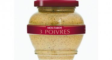 Domaine des Terres Rouges - Moutarde Aux 3 Poivres 200g