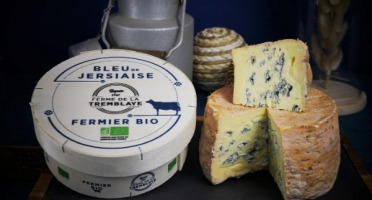 Ferme de La Tremblaye - Bleu de Jersiaise Fermier Bio  800g