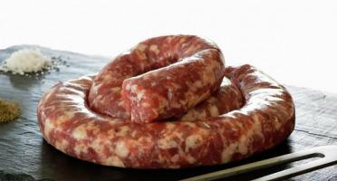 La ferme d'Enjacquet - Saucisse De Porc Fraîche 500g