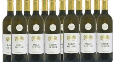 Bonas Lisse Vignoble - Sauvignon Blanc 2019 -  IGP Agenais x12