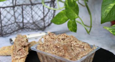 Ferme de Pleinefage - Rillettes de Canard en Barquette (200g)