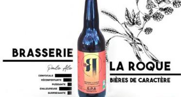 La Roque  Brasserie Bio, paysanne et familiale - Bière G.P.A 12x33cl - Brasserie Fermière Bio