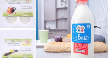 La Bergerie d'Ayze - Le Petit Panier Découverte (8 Yaourts Et 1l De Lait)