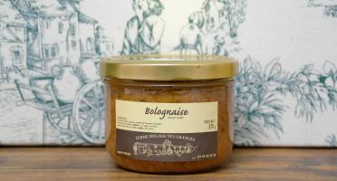 Ferme des Hautes Granges - Bolognaise - 370 g