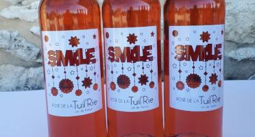 """Domaine de la Tuilerie - Rosé de La Tuil'erie """"smile"""" 2019 ,Vin de France - Coffret de 6 x 75 cl"""