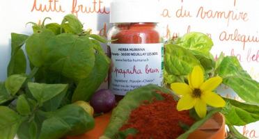 HERBA HUMANA - Paprika Brun Bio Cultivé en France 35 g