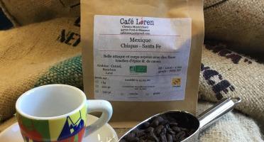 Café Loren - Café Mexique Chiapas Santa Fe Bio: Mouture Moyenne - 500g