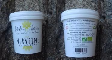 L'Etoile de la Bergère - Glace Bio Au Lait De Brebis Corse Verveine Citronnée 165 Ml Avec Petite Cuillère
