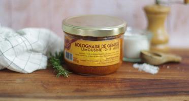 La Ferme Des Gourmets - Bolognaise de Génisse Limousine (lot de 3)