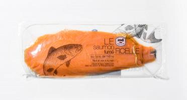 ÏOD - Filet entier de saumon fumé à la ficelle tranché