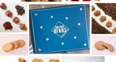 Biscuiterie Maison Drans - Coffret Sablés Folie Maison Drans - 1200 g