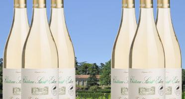 Château Saint Estève d'Uchaux - Viognier Roussanne Blanc sec Tradition 2019 AOP Côtes du Rhône BIO x6