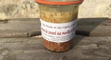 Des Poules et des Vignes à Bourgueil - Terrine De Canard Au Foie Gras Et Morilles