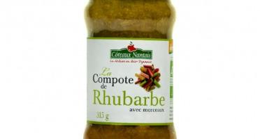 Les Côteaux Nantais - Compote Rhubarbe 315g