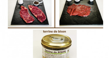 Bisons d'Auvergne - Colis viande de Bison - 2 pers. /4 repas