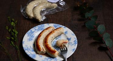 La Cuisine des Belles Volailles - Chef Antoine Westermann - [SURGELÉ] Saucisses 100% Volaille Label Rouge - Lot de 2