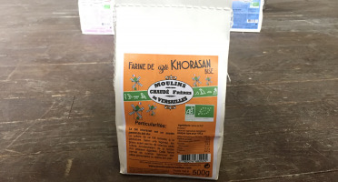 Moulins de Versailles - Farine De Khorasan Bise Bio - 500g