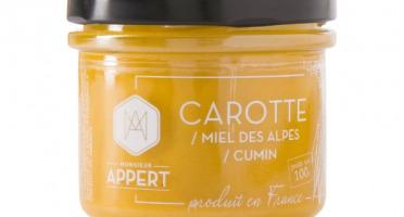 Monsieur Appert - Crème Apéritif Carotte/miel Des Alpes/cumin