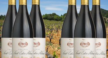 Château Saint Estève d'Uchaux - Grande Réserve Rouge 2017 BIO AOP Villages Massif d'Uchaux  x6