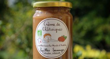 Papilles Sauvages - Crème De Châtaignes D'ardèche Bio - 360g