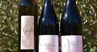 Domaine Giroflet - Panier Découverte : 2 vins IGP Pays d'Hérault et 1 vin AOC Languedoc Bio - 3 bouteilles