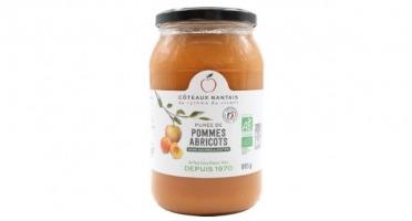 Les Côteaux Nantais - Purée Pommes Abricots 915g Bio