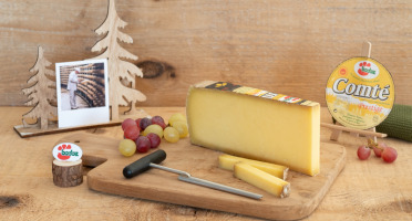 Constant Fromages & Sélections - Comté Aop Badoz Prestige 12 Mois - 500g