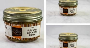 Terres d'Adour - Lot de 3 Foies Gras de Canard Entier 180g