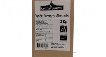Les Côteaux Nantais - Purée Pommes Abricots 3kg