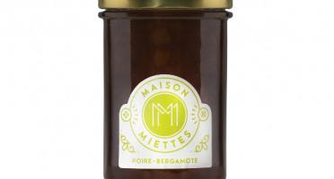 Maison Miettes - Confiture Poire Bergamote - 240g