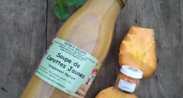 HERBA HUMANA - Soupe De Carotte Jaune Et Colombo