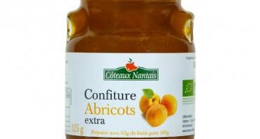 Les Côteaux Nantais - Confiture Abricots Extra 325g Bio