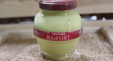 Domaine des Terres Rouges - Moutarde au Raifort 200 g