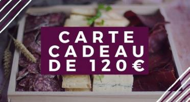 Pourdebon - Carte Cadeau 120 €