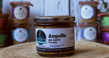 La Bourriche aux Appétits - Rillettes d'anguille de Loire Fumée 80 g