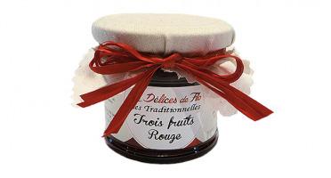 Fromagerie Seigneuret - Confiture Aux Trois Fruits Rouges