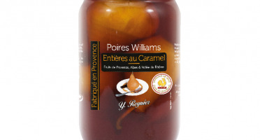 Conserves Guintrand - Poires Williams Entières Yr Au Caramel Bio - Bocal 850ml