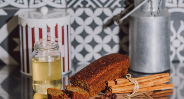 Le Petit Atelier - Cake Pain D'épices Bio Aux Écorces D'orange Confite