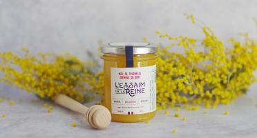 L'Essaim de la Reine - Miel de tournesol crémeux du Gers - 250g - récolté en France par l'apiculteur