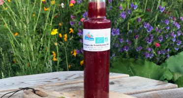 Ferme Sinsac - Vinaigre de framboises Bio