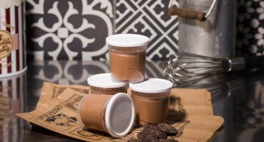 Le Petit Atelier - Lot De 4 Pots De Crème Au Chocolat