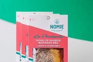 Nomie, le goût des épices - Les Flamboyantes. Mélange Pour Tataki De Saumon Marinade Bbq