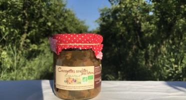 La Boite à Herbes - Courgettes Confites Au Citron Bio